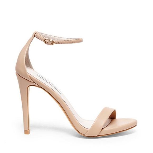 69b8df3b353 Steve Madden Stecy Stiletto Sandals in Natural